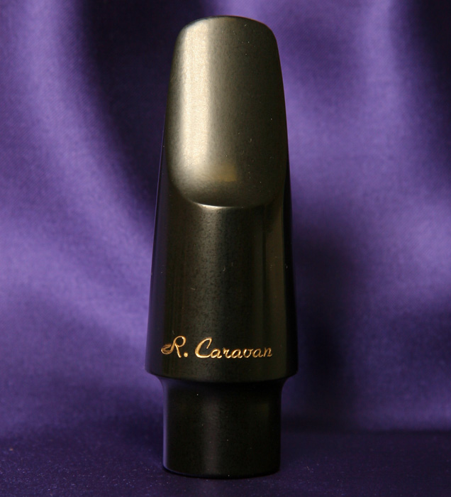 Photo of the Caravan Alto Saxophone Medium Chamber Mouthpiece